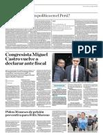 Hay Persecución Política en El Perú