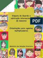 Cartilha Itamaraty - Subtração Internacional de Menores
