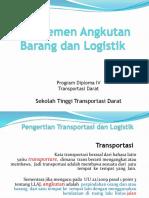 Manajemen Angkutan Barang Dan Logistik