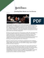 Billy Martin, Chris Wood and John Medeski Summerstage Review