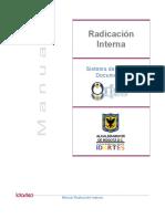 Manual Radicacion Interna
