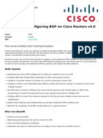 Bgp Configuring Bgp on Cisco Routers v4 0