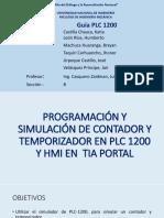 Contador y Temporizador PLC