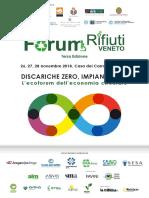 Programma Forum Rifiuti Veneto 2018