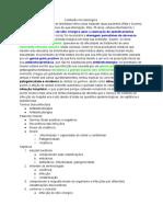 Resumo de microbiologia- taxonomia bacteriana e cadeia de infecção