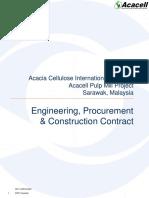 FIDIC EPC Contract Example