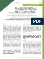 Articulo Sobre La Coccion de Las Papas Antioxidantes