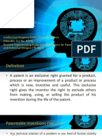 IP Rights Presentation - Patent (Final)