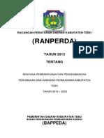 Ranperda_RP3KP Tebo 2014