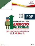 Proyecto para Ejercito de Trolls Venezuela