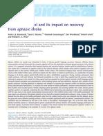 Influencias de las habilidades cognitivas en la rehabilitación de la afasia.