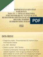 PPT askep penumotorax