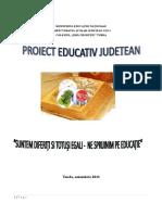 Proiect Judetean Moni