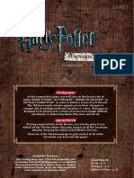 Harry Potter DB G1 Rules