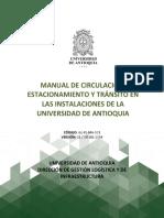 Manual de circulación UdeA