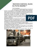 SEDENA Comete Delitos. Editoriales