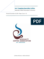 Guidelines for the ability to assess quality of the coffee
