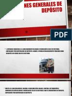 Almacenes Generales de Depósito TerminadA