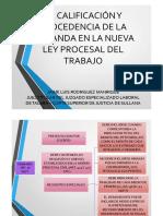 La+calificacion+y+procedencioa+de+la+demanda+NLPT+-Dr+Jaime+Rodriguez+Manrique