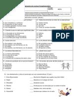 Evaluación de Lectura Complementaria Como Domesticar a Mis Padres