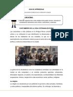 Guia de Aprendizaje Historia 3 básico