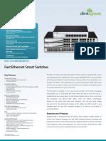 Switch dlink DES 1210 08P 28 28P 52
