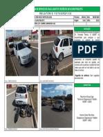 Relatório Fotográfico Sede Gol Acidente de Moto 08-08-2018