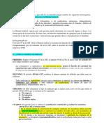 RESPUESTAS EXÁMEN DE DERECHO LABORAL I