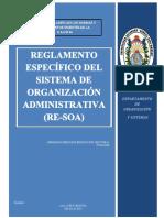 Normas Básicas Sistema Administración Organizativa