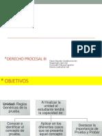 Generalidades de La Prueba