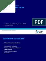 UUS Lecture 11 Basement Structures