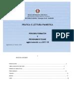 Pratica e Lettura Pianistica 2017-18
