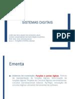 AULA 2 - FUNÇÕES E PORTAS LÓGICAS.pdf