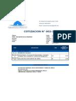 COTIZACION PAVIMENTO RIGIDO