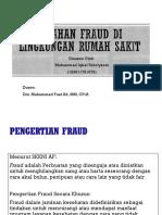 Presentasi Fraud Di Lingkungan Rumah Sakit- Iqbal
