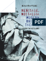 Benjamin Poore Auth. Heritage, Nostalgia and Modern British Theatre Staging the Victorians
