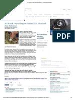 RI Masih Doyan Impor Durian Asal Thailand Dan Malaysia