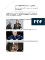Rusia Kremlin Con Helicopteros