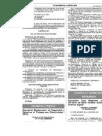 RM 111 2013 Reglamento SST Electrico