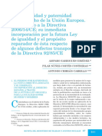 52La Maternidad y Paternidad UE