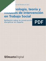Epistemología, Teoria y modelos de intervención de Trabajo Social