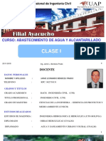 CLASE I Abasto