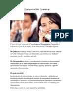 Tecnólogo en Comunicación Comercial