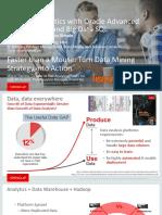 ORACLE - Big Data Analytic