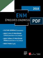 Partiels 2018 Lextenso Étudiant Jour 2 - L3 - Procédure Civile (Gualino - Epreuves d'Admissibilité 2018)