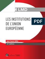 Partiels 2018 Lextenso Étudiant Jour 3 - L3 - Droit de l'UE (Gualino - QCM LMD)