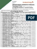 Catálogo motos en subasta - Ñemby