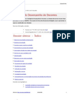 Avaliação de professores - síntese de decreto regulamentar 2-2010