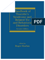 Handbook of Tourette's Syndrome and Related Tic and Behavioral Disorders (Neurological Disease and Therapy)