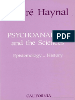 Andre Haynal-Psychoanalysis and the Sciences (1993).pdf